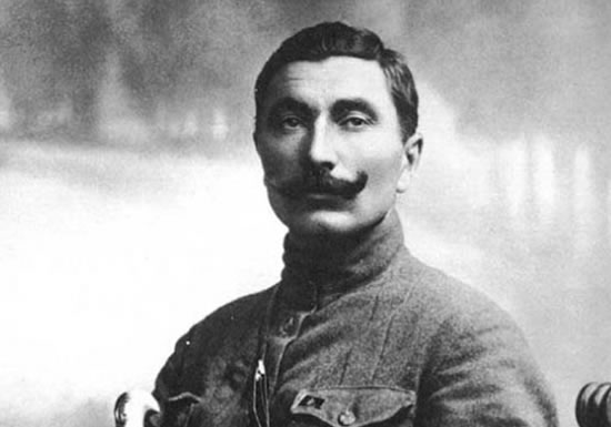 As Semyon Budyonny fought in the First world
