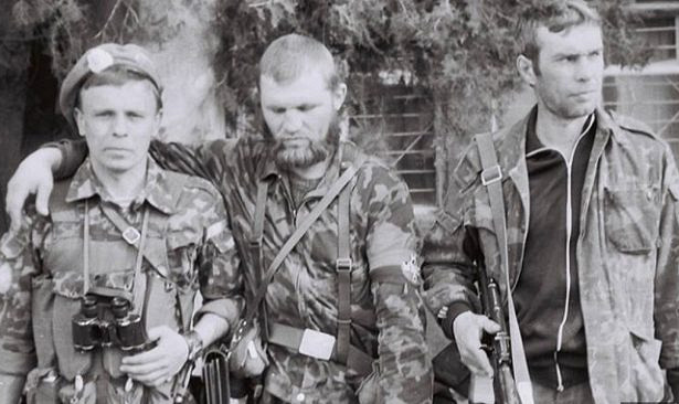As the Chechens belonged to the Ukrainian mercenaries in the First Chechen