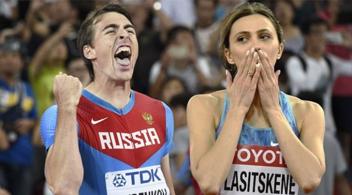 Athletes Laecken and Shubenkova handed the title of captains of the Russian army