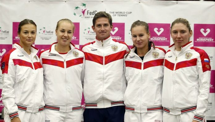Became known rivals Russia national team on tennis in the fed Cup final