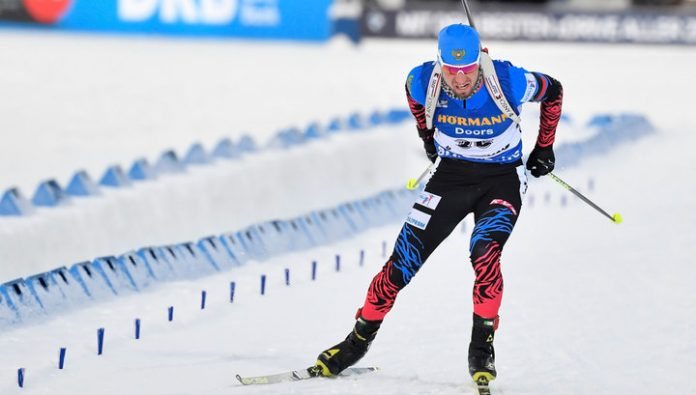 Biathlete Loginov brought Russia the gold Cup