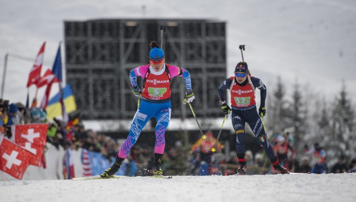 Biathlon. Norway won the women's relay world championship, Russia – eighth
