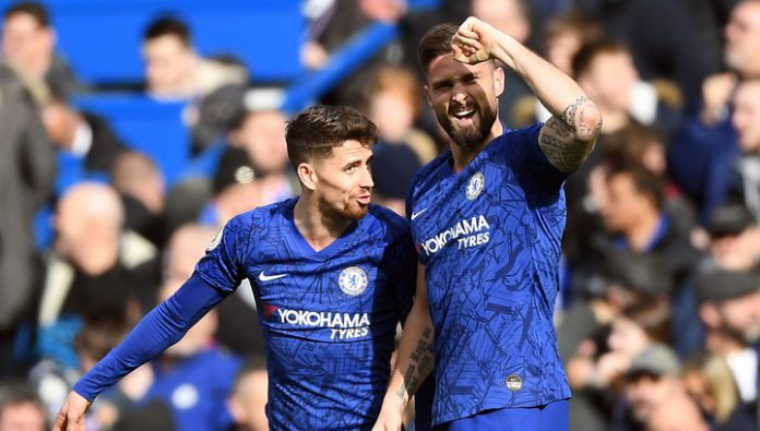 Chelsea beat Tottenham London Derby