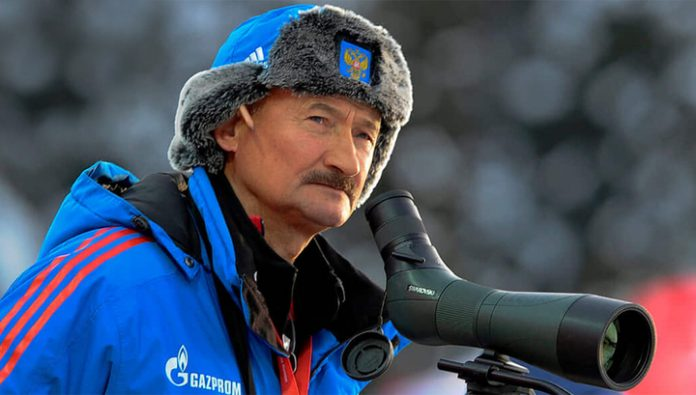 Coach biathletes of Kovantsev stood up for Loginova