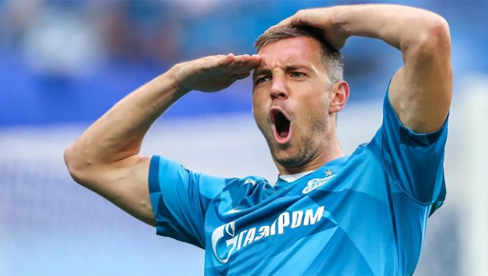 Double Dziuba helped Zenit to beat CSKA in the control match