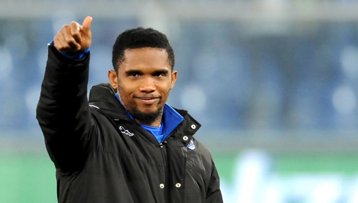 Eto'o: it seemed that