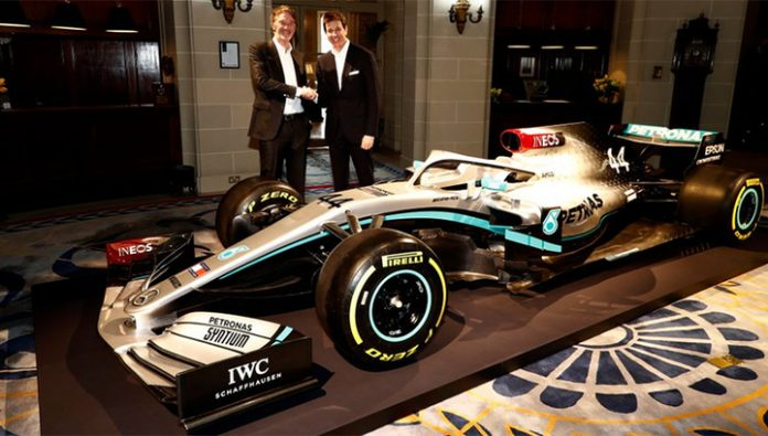 Formula 1. Mercedes presented the coloring book of cars for the season-2020