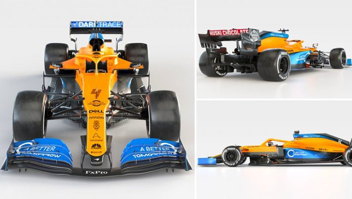 Formula 1. Team McLaren introduced a new car