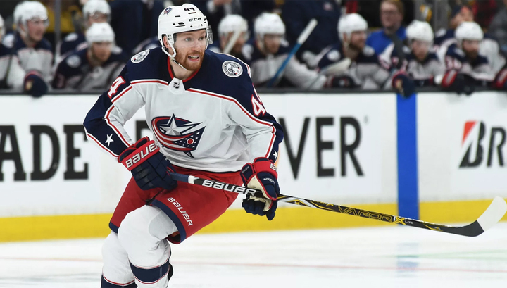 Dubois has three points to help Blue Jackets defeat Canadiens class=
