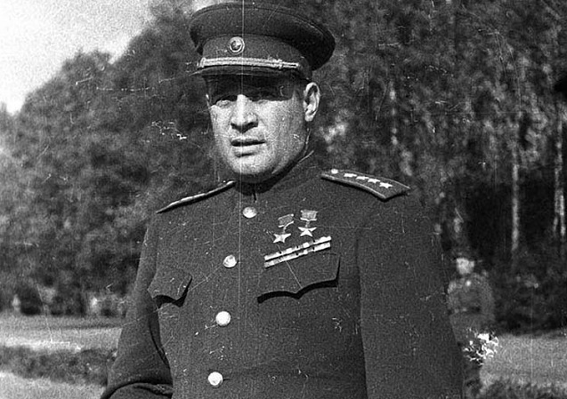 General Chernyakhovsky: as actually died