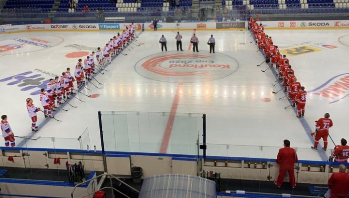 Hockey Olympic team of Russia defeated the Belarusians the tournament in Slovakia
