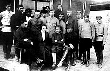How many women were Nestor Makhno