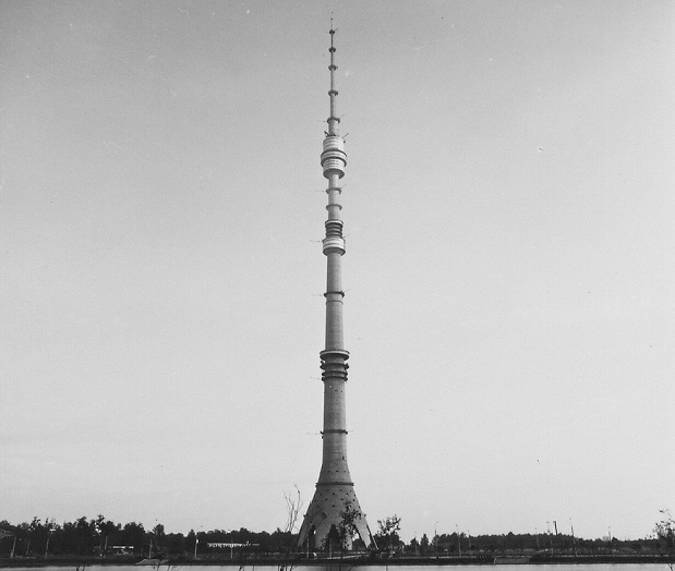 How much it actually costs one meter Ostankino television tower
