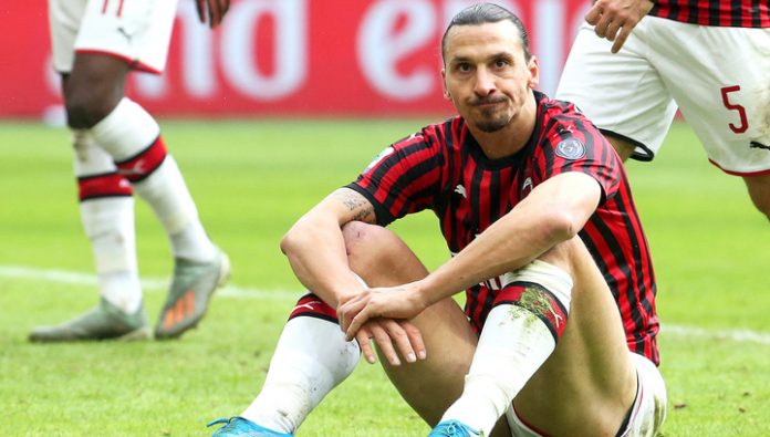 Ibrahimovic scored in the Derby, but did not save Milan from the comeback of