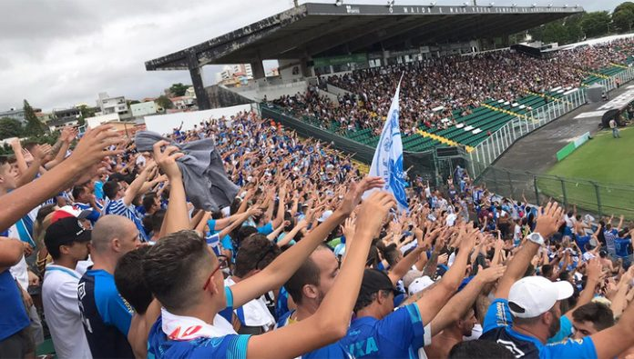 In Brazil, the players fought with the fans of the opposing team