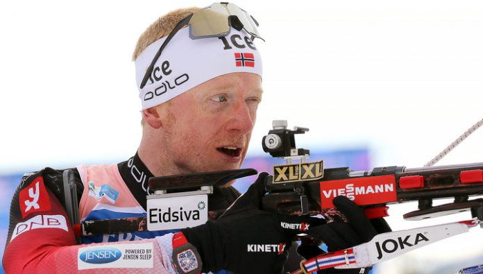 Johannes boe won the world championship gold in the mass start