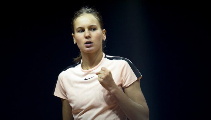 Kudermetova won in the first round of the tournament in Saint-Petersburg