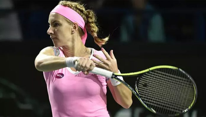 Kuznetsova advanced to the second round of the tournament in Doha