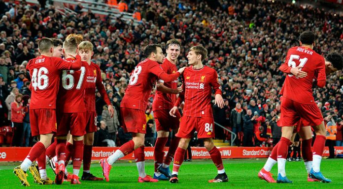 """Liverpool youth team lost """"Shrewsbury"""" in the FA Cup"""