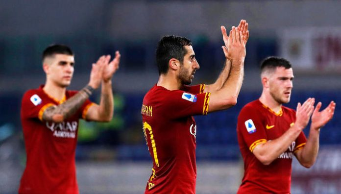 Mkhitaryan's goal helped Roma to defeat Lecce in the Italian League