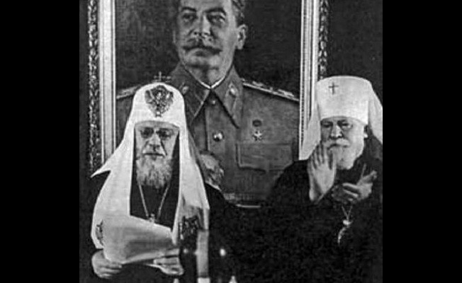 On what did the Orthodox Church under the Soviet regime