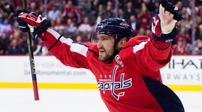Ovechkin came in eighth place in the list of the best snipers in NHL history
