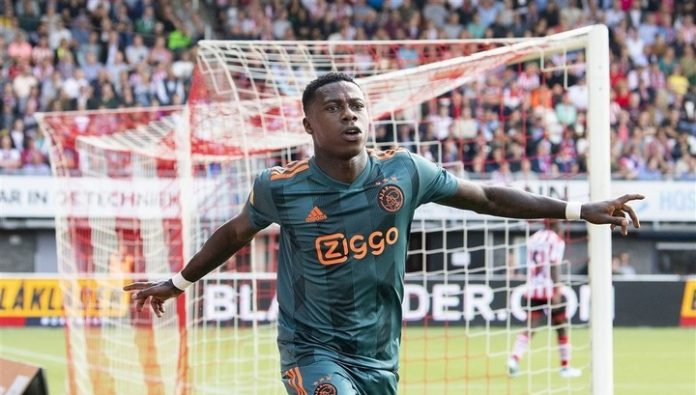 Quincy promes will miss a few weeks due to injury