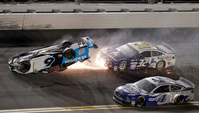 Racing series NASCAR marred by a terrible accident