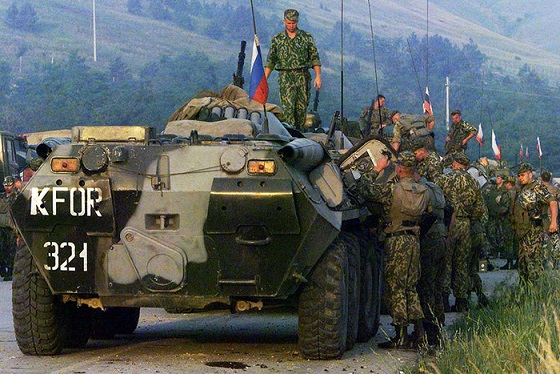 Roll Pristina: as Russian paratroopers thwarted NATO plans