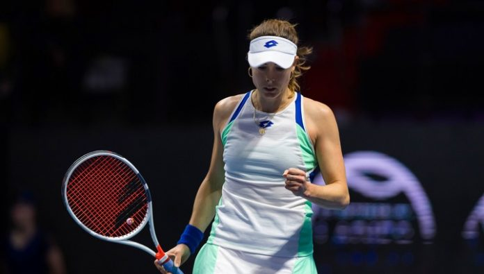 Root defeated Ostapenko in the first round of the tournament in Saint-Petersburg