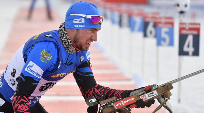 Russian biathletes came to searches on the eve of the torch relay of the world Cup