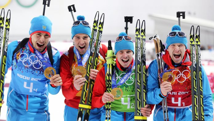 Shipulin, Malyshko and Volkov lost his Olympic gold in Sochi