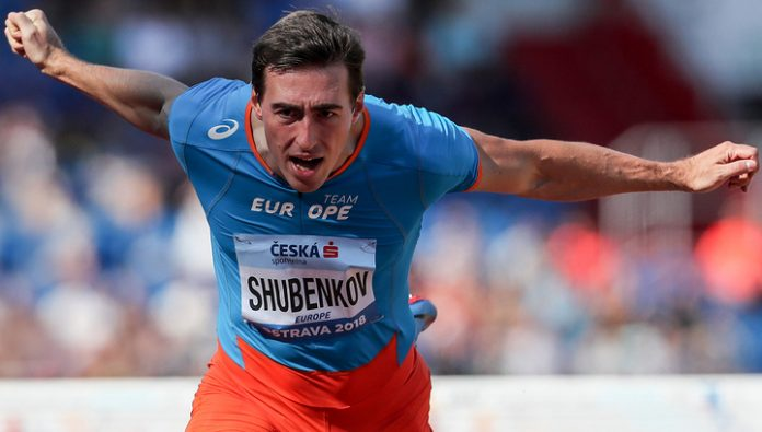Shubenkov named athlete of the decade in the hurdles
