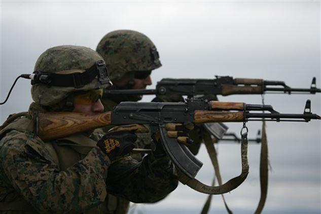 Some foreign armies use the AK at the moment