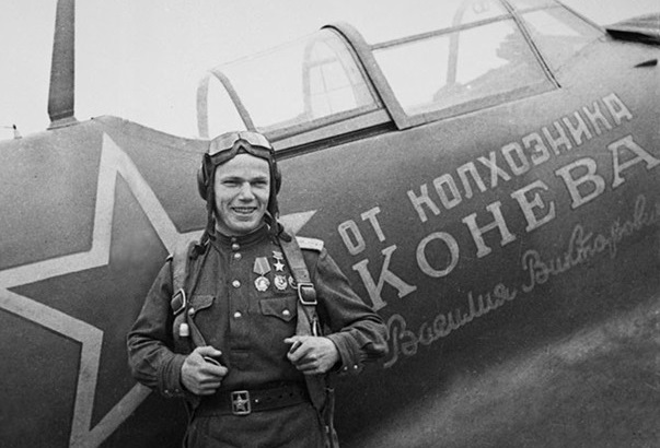 Some of the exploits of the pilots were awarded the title hero of the Soviet Union
