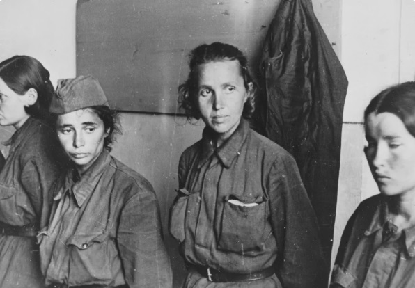 Some of the Soviet women prisoners, the Germans hated the most