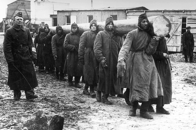 Some prisoners sat in the German concentration camps in the best conditions