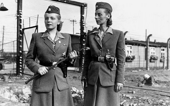 Some women went to serve in the SS