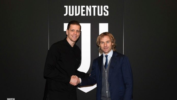 Szczesny signed a new long-term contract with Juventus