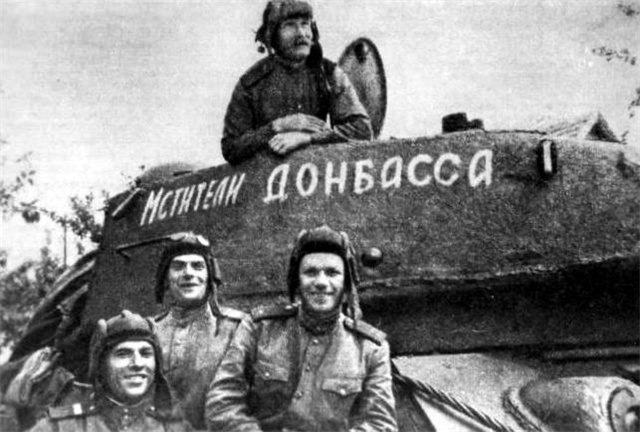That meant the lettering on the planes and tanks of the red Army