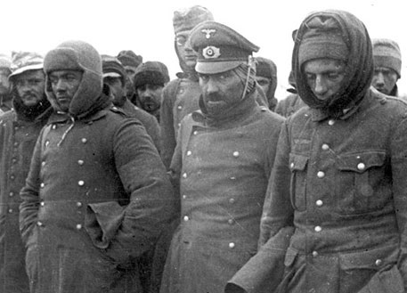 That modern Germans are talking about soldiers of the army of Paulus