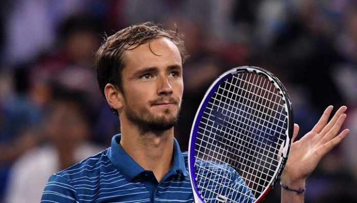 The ATP ranking. Daniil Medvedev was the fifth racket of the world