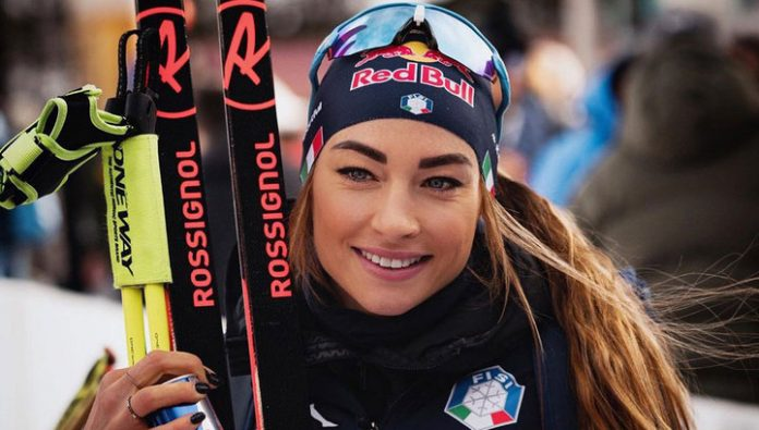 The biathlon world Championships. The Italian Wearer won the race persecution