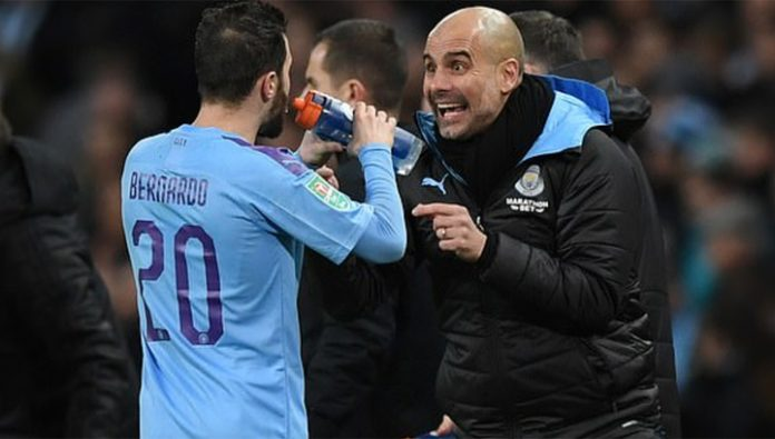 The players of Manchester city is dissatisfied with the methods of Guardiola