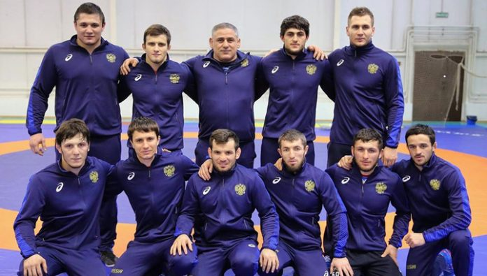 The Russians won their first medal at the European championship on struggle