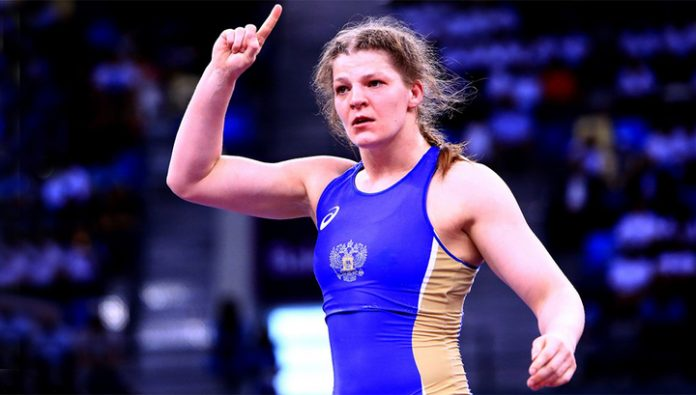 The Russians won three gold in wrestling Euro 2020