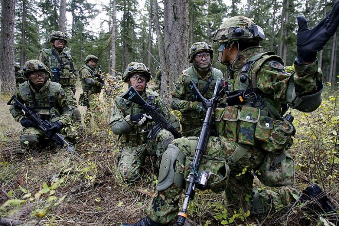 The self-defense forces of Japan: the threat to Russia of Japanese