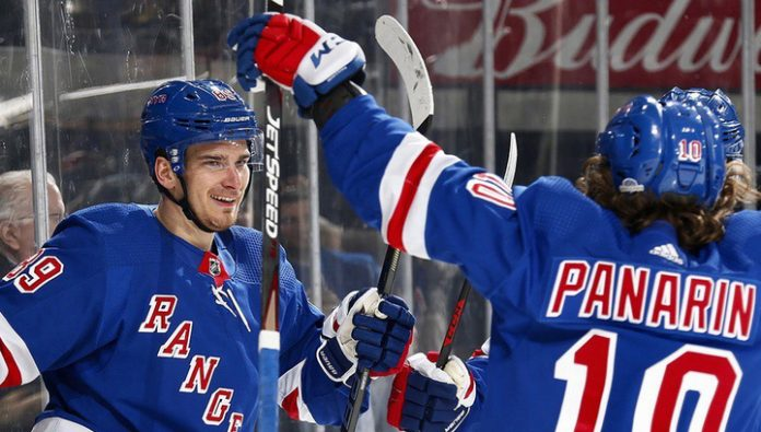 Washer Panarin and Buchnevich helped the Rangers to beat Chicago