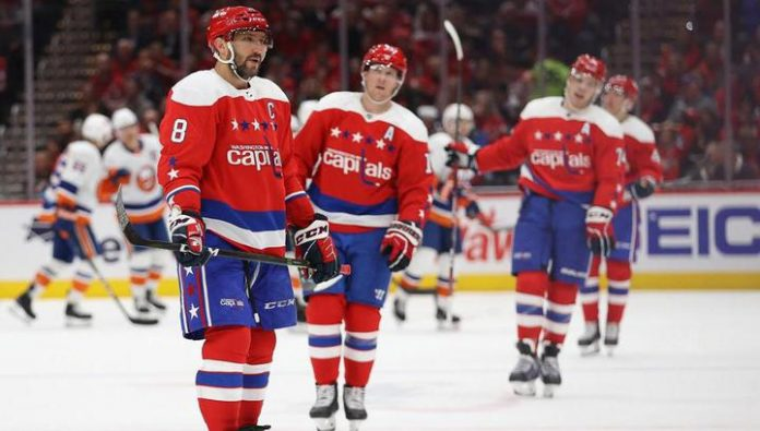 Washington lost to the islanders, Ovechkin had repeated the worst result in the season
