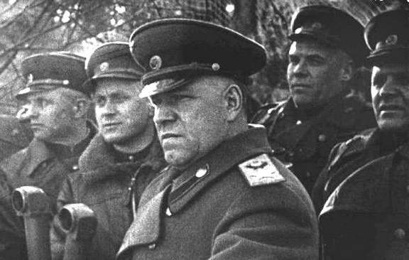 What battle lost Zhukov in the Great Patriotic